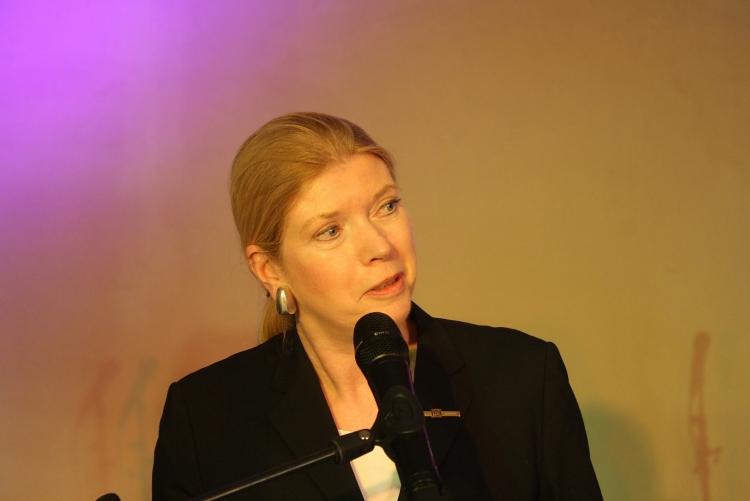 Grußworte von Dr. von Bassewitz, Member of International Board of ZONTA