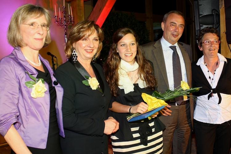 Verleihung des YWPA Award an Aline Zimmermann